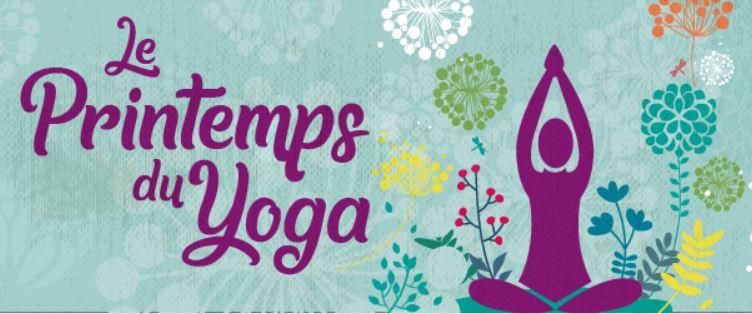 Le printemps du yoga