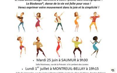 Biodanza à Saumur