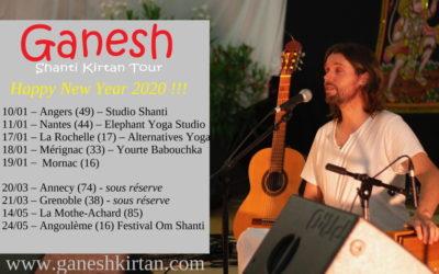 Shanti Kirtan – Janvier 2020